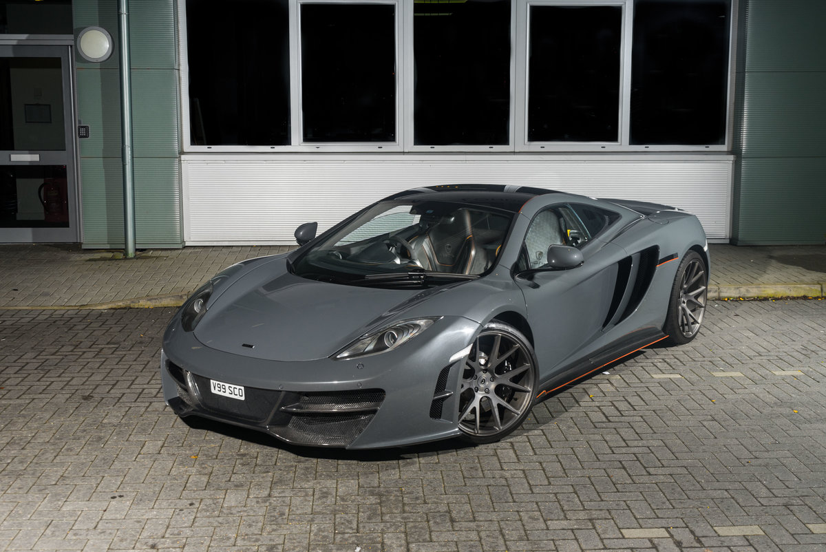 McLaren MP4-12C Mulgari ICON1 Chassis #001 2011 SOLD (picture 1 of 6)