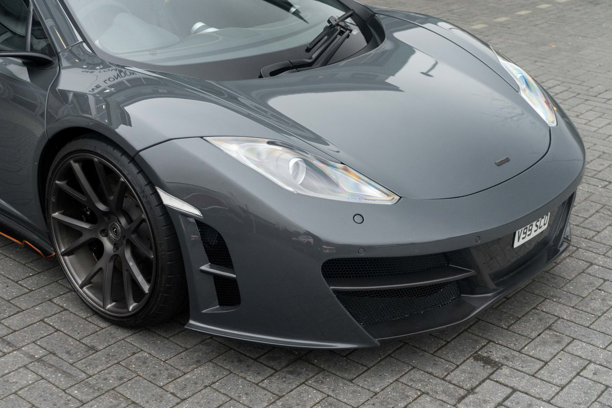 McLaren MP4-12C Mulgari ICON1 Chassis #001 2011 SOLD (picture 3 of 6)