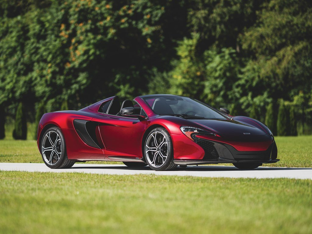 2016 McLaren 650S Spider  For Sale by Auction (picture 1 of 6)
