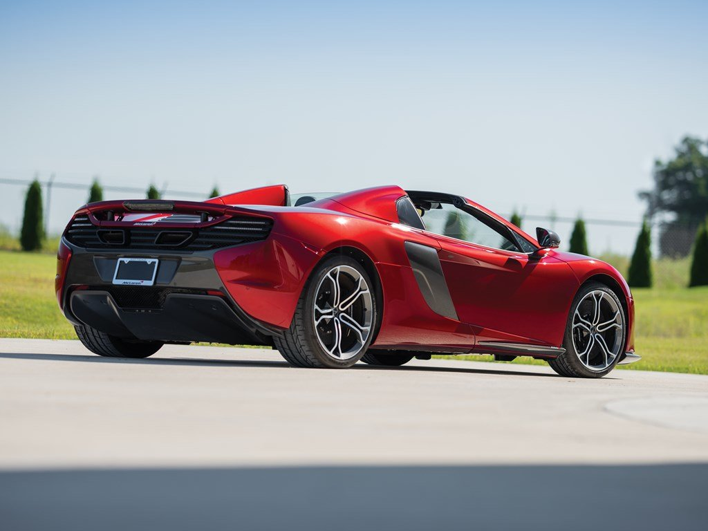 2016 McLaren 650S Spider  For Sale by Auction (picture 2 of 6)