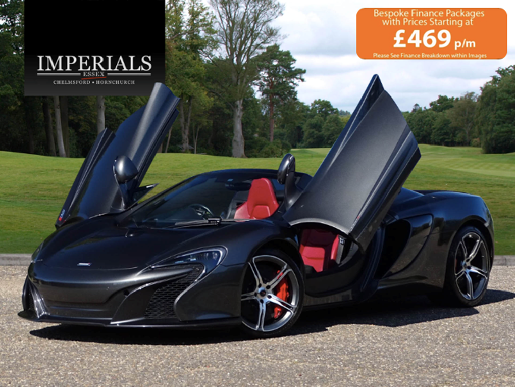 2016 McLaren  650S  V8 SPIDER  89,948 For Sale (picture 1 of 24)