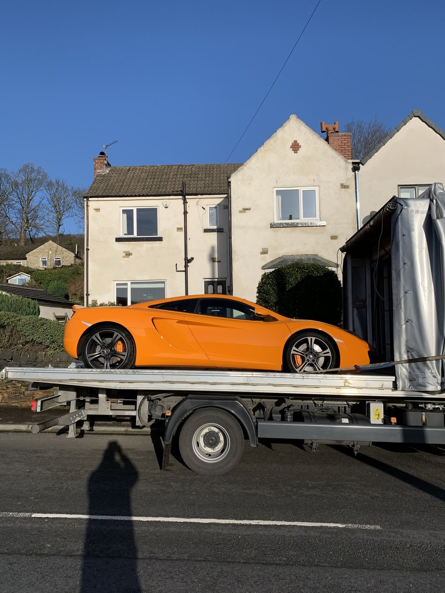 2012 Mclaren MP4-12C Mint 6800 Miles For Sale (picture 2 of 6)