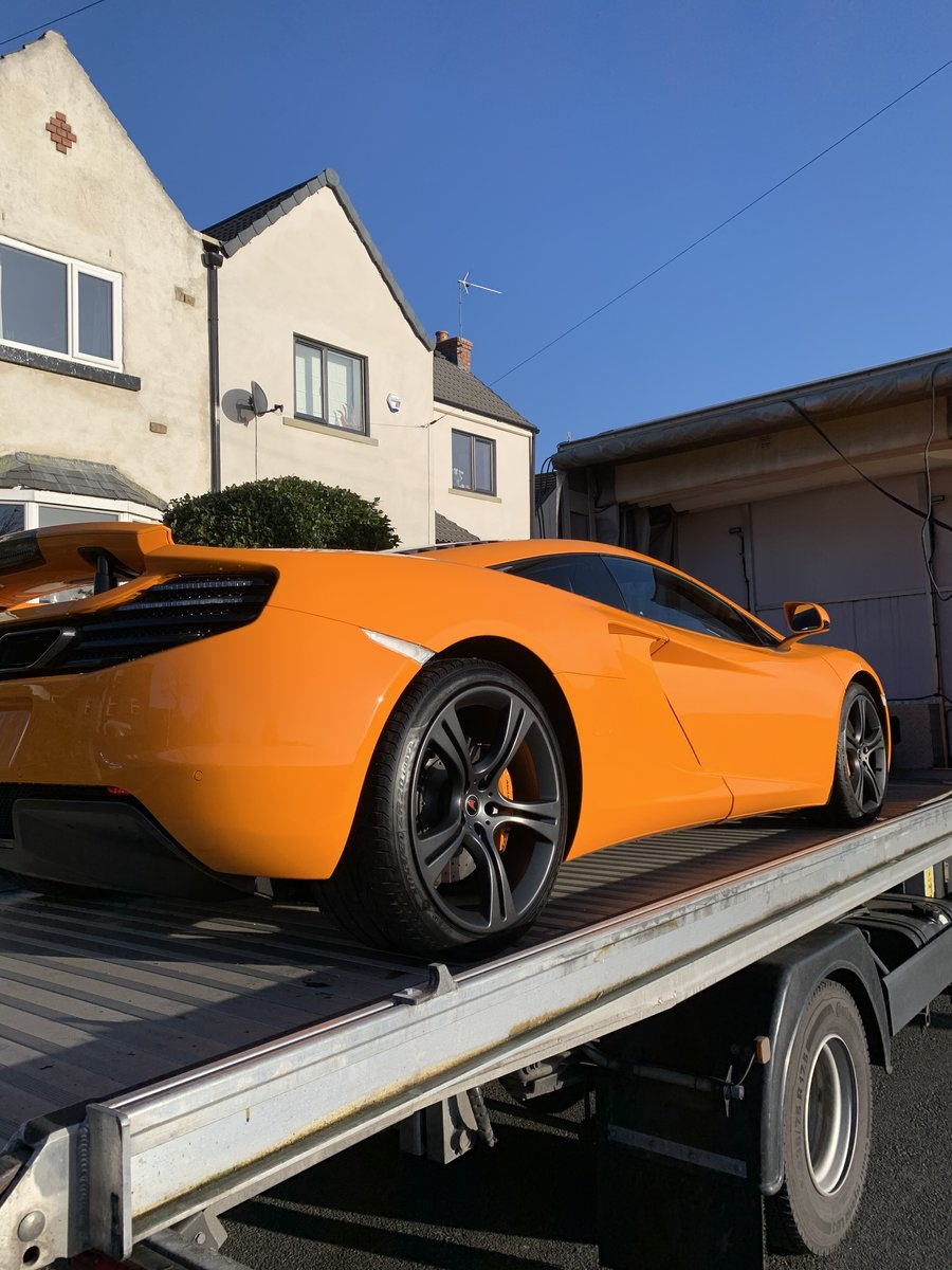 2012 Mclaren MP4-12C Mint 6800 Miles For Sale (picture 3 of 6)
