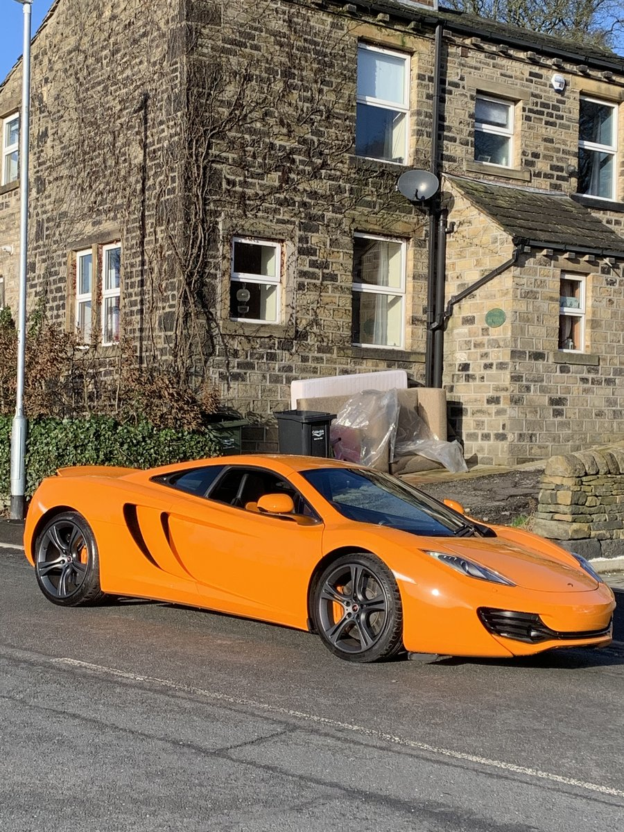 2012 Mclaren MP4-12C Mint 6800 Miles For Sale (picture 4 of 6)