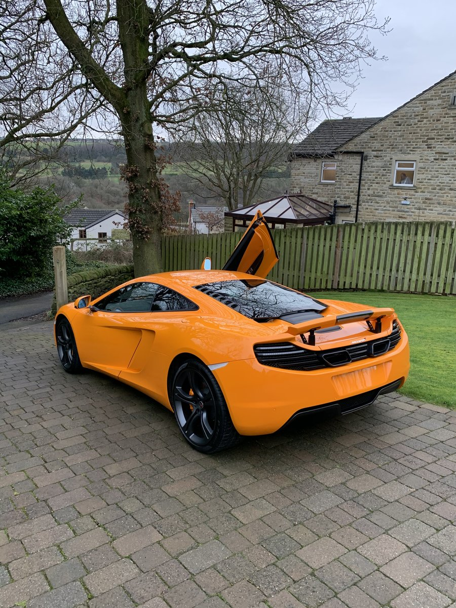 2012 Mclaren MP4-12C Mint 6800 Miles For Sale (picture 5 of 6)