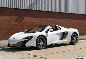 2016 McLaren 650S Spider (RHD) For Sale