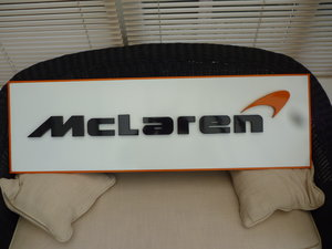 Picture of McLaren 3D Sign