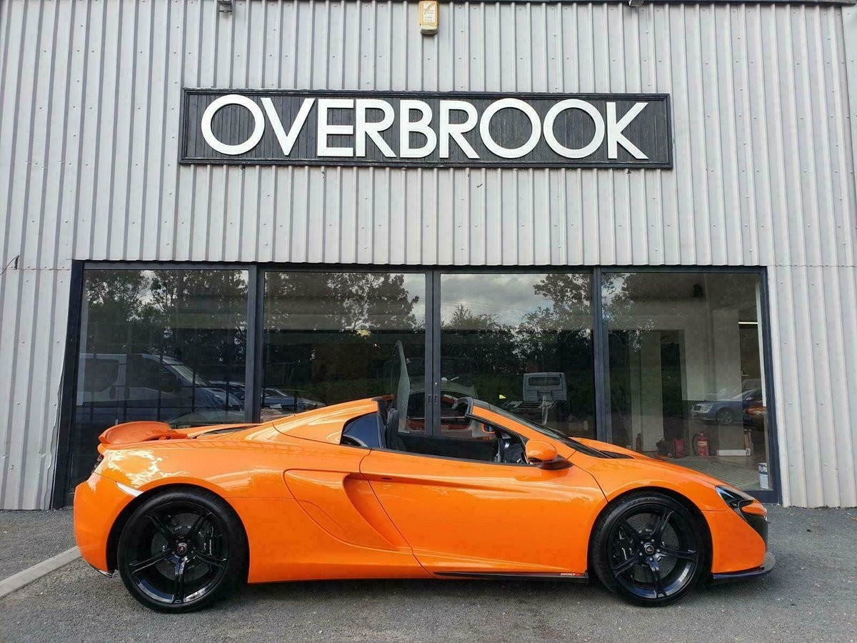 2016 McLaren 650S SPIDER FULL MCL HISTORY For Sale (picture 1 of 6)