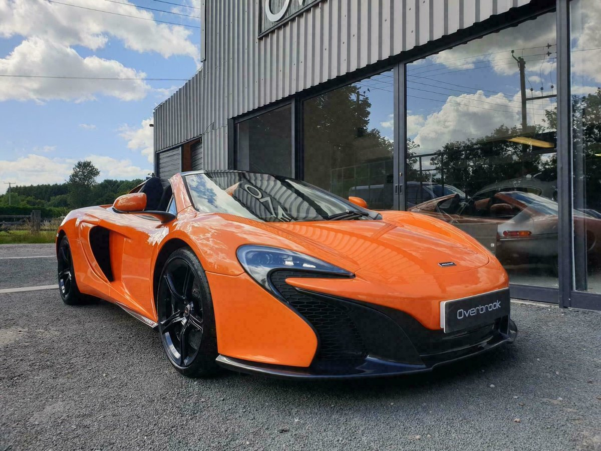 2016 McLaren 650S SPIDER FULL MCL HISTORY For Sale (picture 2 of 6)