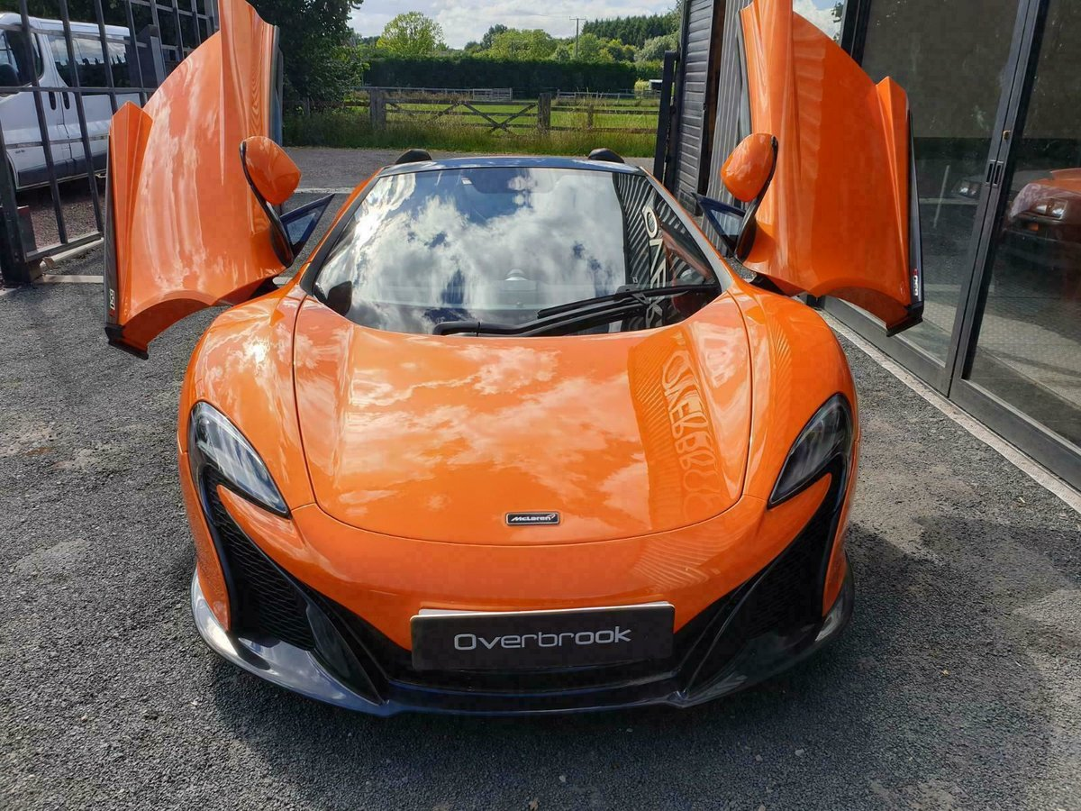 2016 McLaren 650S SPIDER FULL MCL HISTORY For Sale (picture 6 of 6)