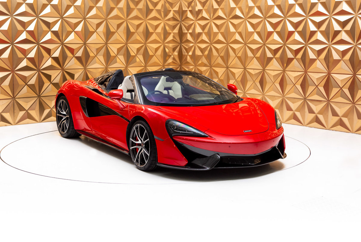 2018 McLaren 570s Spider For Sale (picture 1 of 12)