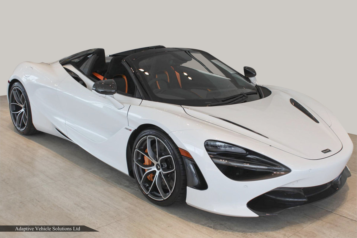 2021 Save £34,000 - McLaren 720s Spider 360 Cam. Carbon Pk III For Sale (picture 1 of 4)