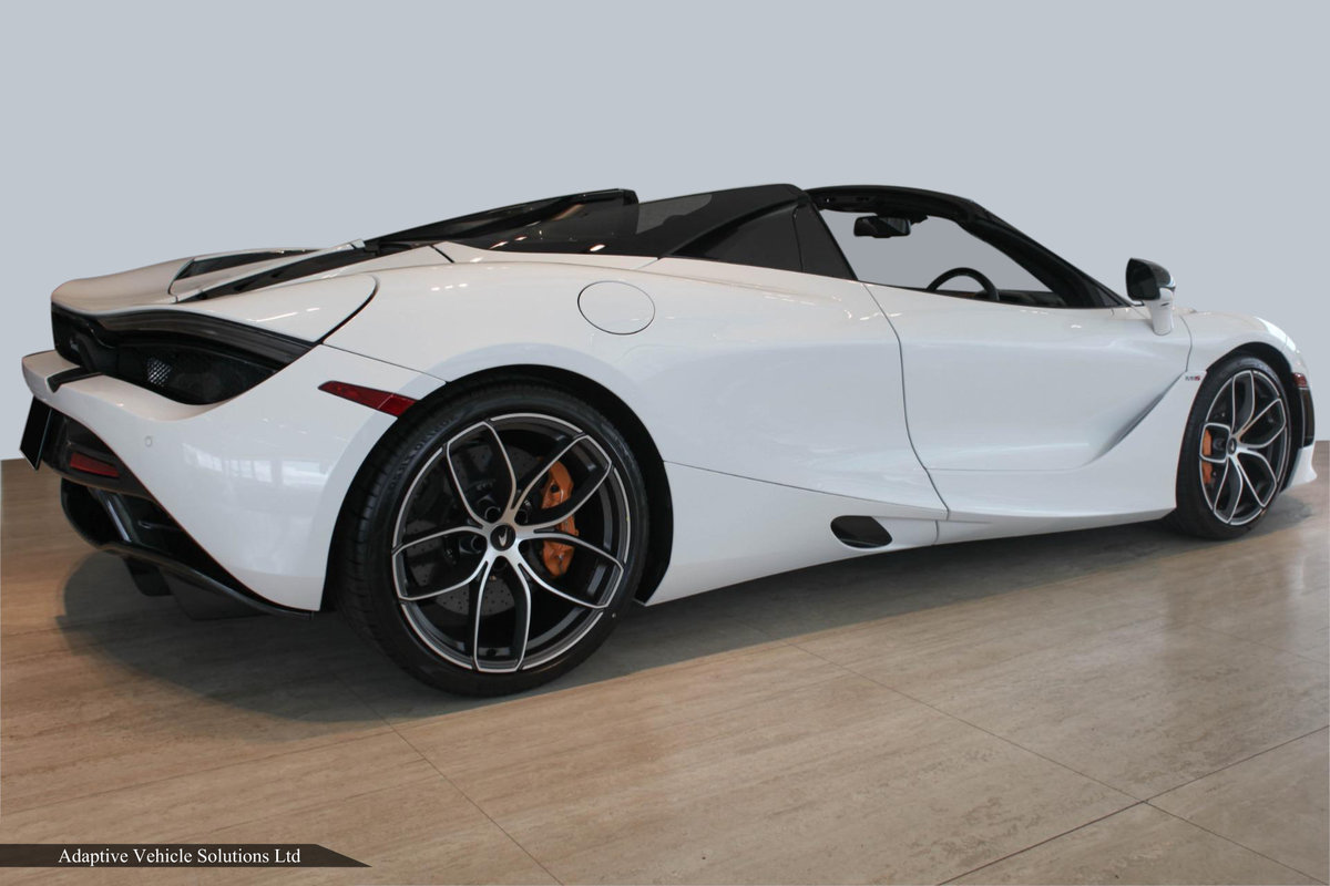 2021 Save £34,000 - McLaren 720s Spider 360 Cam. Carbon Pk III For Sale (picture 2 of 4)
