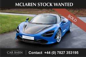 Picture of 2019 McLaren Stock Wanted For Sale