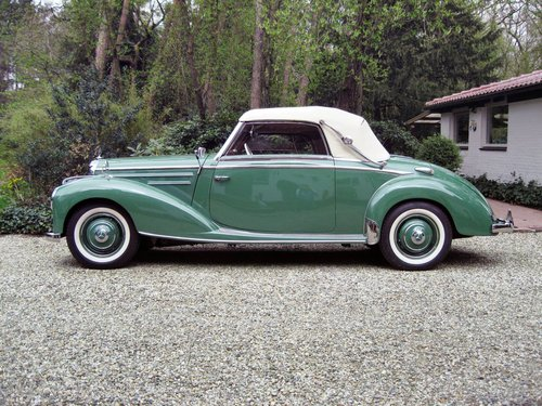 1952 Mercedes 220A  € 149.500 SOLD (picture 1 of 6)