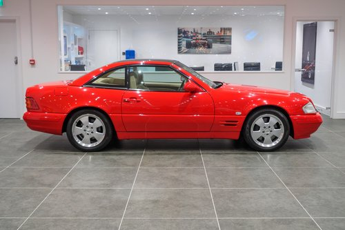 1999 Mercedes SL320 For Sale (picture 1 of 6)