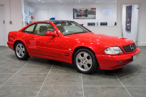 1999 Mercedes SL320 For Sale (picture 2 of 6)