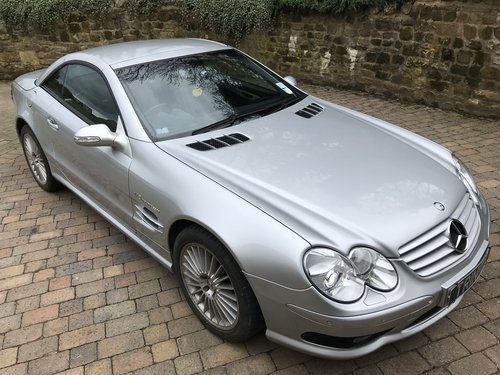 2002 Mercedes SL55 AMG in exacting condition REDUCED to sell For Sale (picture 3 of 6)