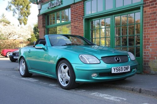 2001 Mercedes SLK 230 Convertible Automatic  SOLD (picture 2 of 4)