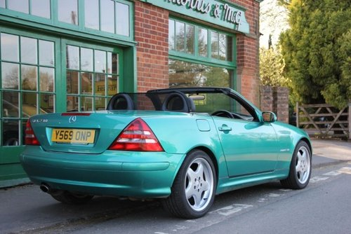 2001 Mercedes SLK 230 Convertible Automatic  SOLD (picture 3 of 4)