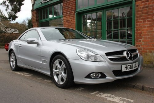 2012 Mercedes SL350 Convertible Automatic  SOLD (picture 2 of 4)