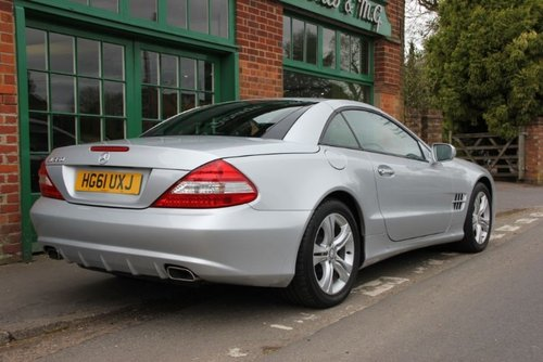 2012 Mercedes SL350 Convertible Automatic  SOLD (picture 3 of 4)