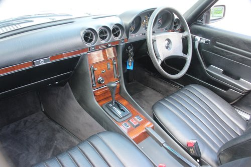 1980 Mercedes 350 SL Convertible with low mileage R107 model For Sale (picture 3 of 6)