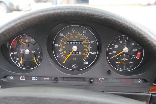 1980 Mercedes 350 SL Convertible with low mileage R107 model For Sale (picture 5 of 6)