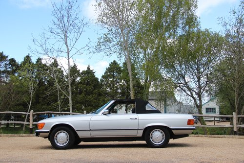 1980 Mercedes 350 SL Convertible with low mileage R107 model For Sale (picture 6 of 6)