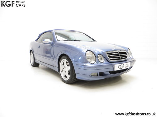 2002 An Opulent Mercedes-Benz CLK320 Avantgarde (A208) SOLD (picture 1 of 6)