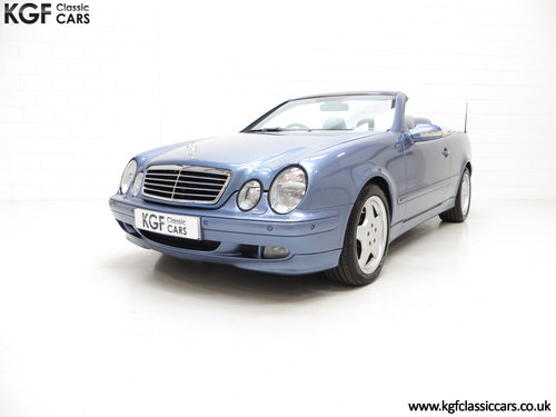 2002 An Opulent Mercedes-Benz CLK320 Avantgarde (A208) SOLD (picture 2 of 6)