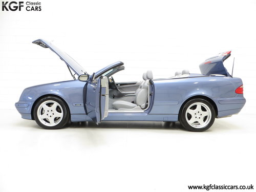 2002 An Opulent Mercedes-Benz CLK320 Avantgarde (A208) SOLD (picture 3 of 6)