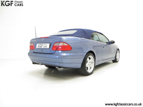 2002 An Opulent Mercedes-Benz CLK320 Avantgarde (A208) SOLD (picture 5 of 6)