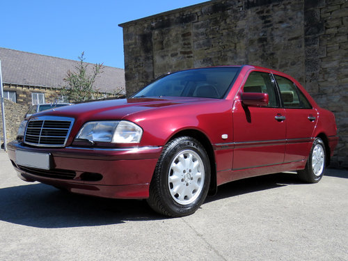 1999 Mercedes W202 C240 Eleg. Auto (5) - 59K - FMBSH - High Spec SOLD (picture 1 of 6)