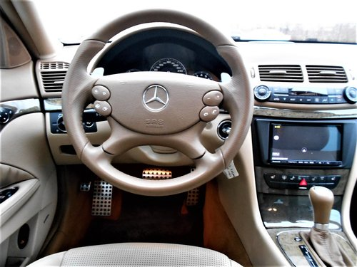 2007 MERCEDES-BENZ E63 AMG 6.2 7G-TRONIC WHITE 52K MILES LHD For Sale (picture 6 of 6)