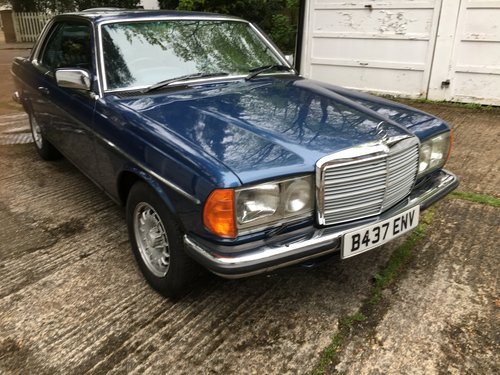 1985 Mercedes W123 230ce Coupe SOLD   Car And Classic