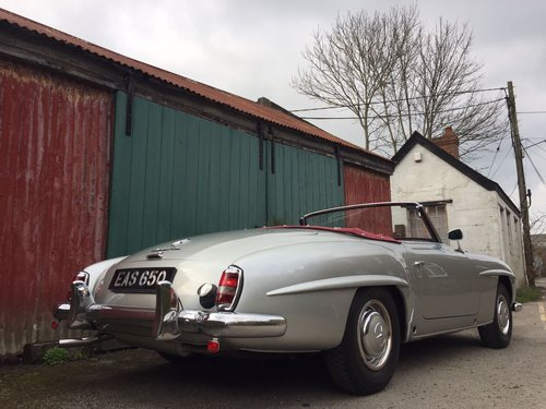 1961 Mercedes-Benz 190SL For Sale (picture 2 of 6)