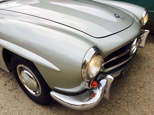 1961 Mercedes-Benz 190SL For Sale (picture 3 of 6)