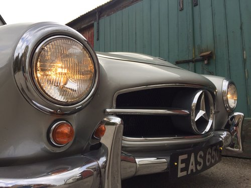 1961 Mercedes-Benz 190SL For Sale (picture 4 of 6)