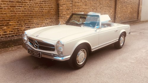 1969 Mercedes-Benz 280SL Pagoda RHD SOLD (picture 1 of 6)