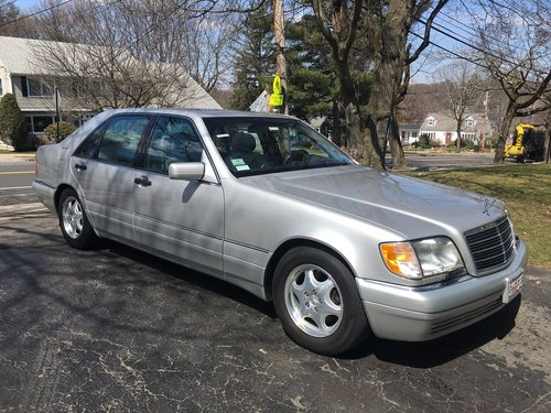 1997 Mercedes- Benz S420 4DR Sedan For Sale (picture 1 of 6)