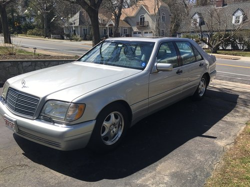 1997 Mercedes- Benz S420 4DR Sedan For Sale (picture 2 of 6)