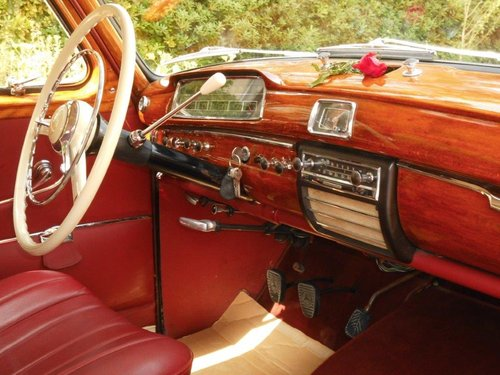 Mercedes benz 220S model 1959 with 6cyl engine SOLD (picture 3 of 6)