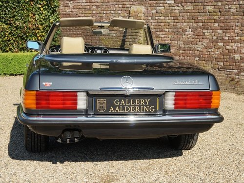 1986 Mercedes 300SL  only 64.000 miles. Matching numbers! For Sale (picture 6 of 6)