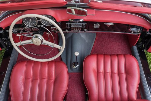 LHD 1963 Mercedes Benz 190SL with Hardtop - restored For Sale (picture 3 of 6)