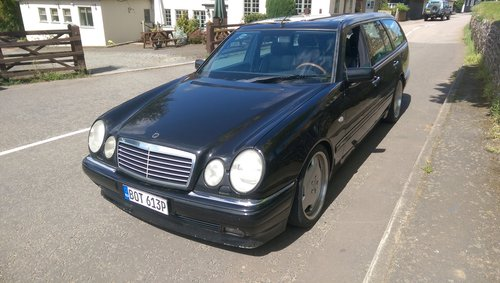 1998 Mercedes-Benz W210 300TD Brabus tuned For Sale (picture 1 of 6)