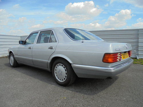 1990 MERCEDES 300 SE AUTOMATIC For Sale (picture 3 of 6)