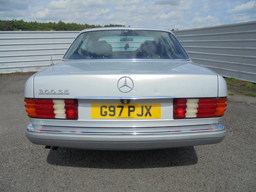 1990 MERCEDES 300 SE AUTOMATIC For Sale (picture 4 of 6)