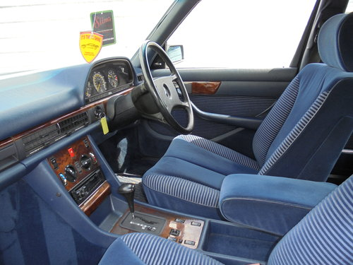 1990 MERCEDES 300 SE AUTOMATIC For Sale (picture 5 of 6)