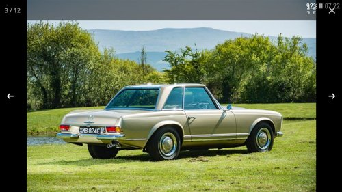 1967 250 SL Pagoda For Sale (picture 1 of 6)